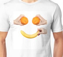 Fruits.Healthy life.Smiling Unisex T-Shirt