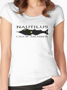 20,000 Leagues Under the Sea - Nautilus  Women's Fitted Scoop T-Shirt