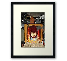 Graffiti Art, Glasgow Framed Print