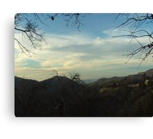 Cloudy Day In The San Bernardino Mountains Canvas Print