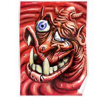 Squashy Undershot Devil Poster