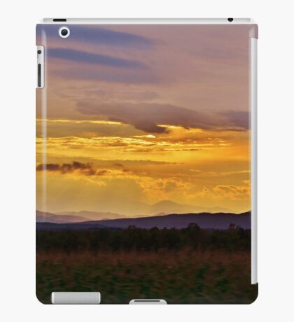 Sunset on the Mountain iPad Case/Skin