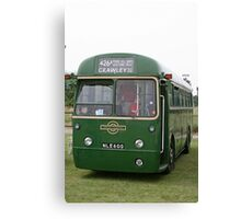 London Transport green country bus Canvas Print