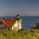 Port San Luis Lighthouse by Cathy L. Gregg