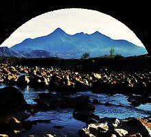 The Bridge - Sgurr nan Gillean by caledoniadreamn