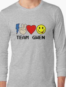 TEAM GWEN shirt New Season 9 fall emoji emoticon Long Sleeve T-Shirt