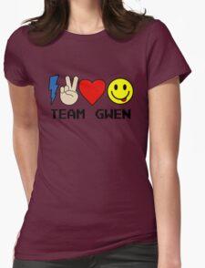 TEAM GWEN shirt New Season 9 fall emoji emoticon Womens Fitted T-Shirt