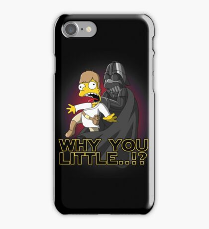 Why you little iPhone Case/Skin
