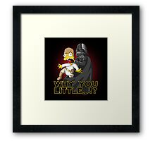 Why you little Framed Print