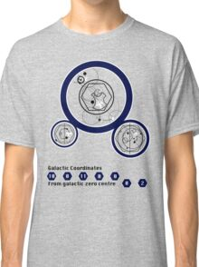 Galactic Coordinates from Galactic Zero Centre Classic T-Shirt