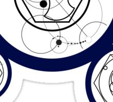Galactic Coordinates from Galactic Zero Centre Sticker