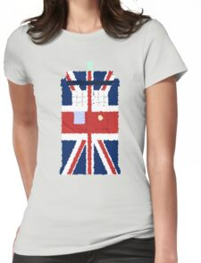 Fuzzy Policebox Womens Fitted T-Shirt