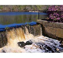 Paskamansett  River Falls Photographic Print