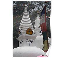 Swambhunath Temple: Nepal Poster