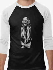 Giger's Birth Machine Baby Men's Baseball ¾ T-Shirt