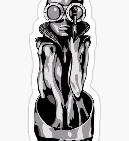 Giger's Birth Machine Baby Sticker