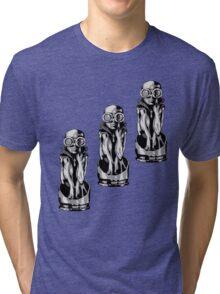 Giger's Birth Machine Baby Trio Tri-blend T-Shirt