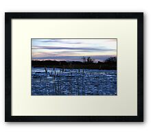 Buckhorn Pond Before Dawn Framed Print