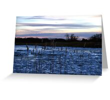 Buckhorn Pond Before Dawn Greeting Card