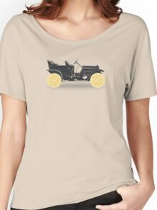 Oldtimer / Historic Car with lemon wheels Women's Relaxed Fit T-Shirt
