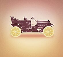Oldtimer / Historic Car with lemon wheels by badbugs