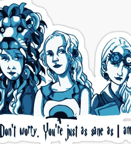 Loony Lovegood Sticker