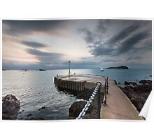 North Berwick Pier Poster
