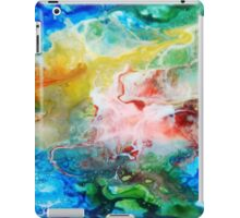 Unique colorful galaxy abstract art iPad Case/Skin