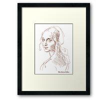Leonardo da Vinci`s Angel Framed Print