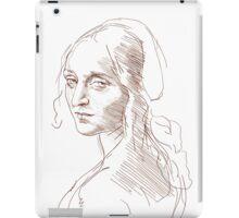Leonardo da Vinci`s Angel iPad Case/Skin