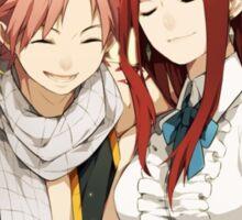 Fairy Tail - Lucy, Natsu, Erza, Gray Sticker