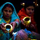 Worshipping the Sun God (India) by Amlan Sanyal