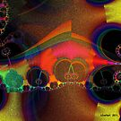 Abstract Fractal by Julie Everhart