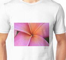 Red Plumeria Unisex T-Shirt
