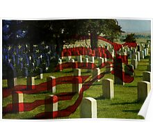Memorial Day - Thank you for your's and your family's service  Poster