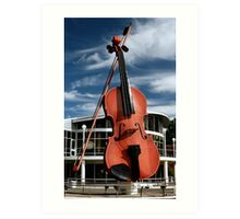 The Big Fiddle Art Print