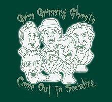 Grim Grinning Ghosts by 2cheekydisnerds