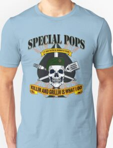 #1 DAD SPECIAL POPS Unisex T-Shirt