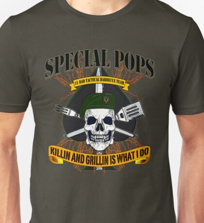 #1 DAD SPECIAL POPS Unisex T-Shirt