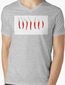 Chilli Peppers  Mens V-Neck T-Shirt