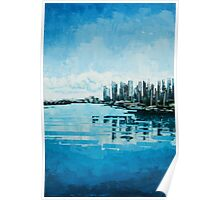 Coal Harbour, Vancouver Poster