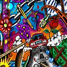 """""""Legal Pad Doodles #2"""" by Steve Farr"""