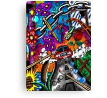 """""""Legal Pad Doodles #2"""" Canvas Print"""