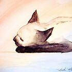 Sleepy Kitty by Andreia Medlin