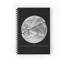 Help Earth Spiral Notebook