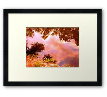 Cafe of the Imagination Framed Print