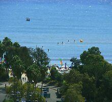 Paddle Races Dana Point, California by Joni  Rae