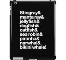 B-52's Rock Lobster Helvetica Ampersand T-Shirts & More iPad Case/Skin