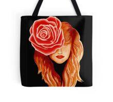 Serenity woman and nature Tote Bag