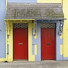 Red Doors and Easter Colors by Ethna Gillespie